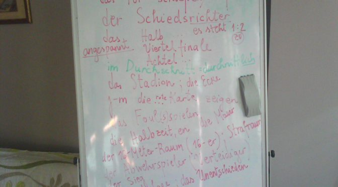 Stories of a white board