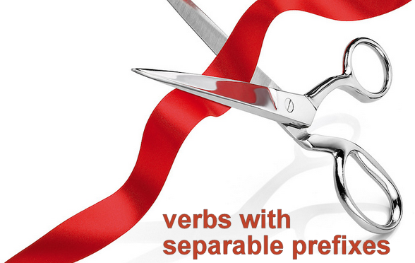 Verbs with separable prefix – A1