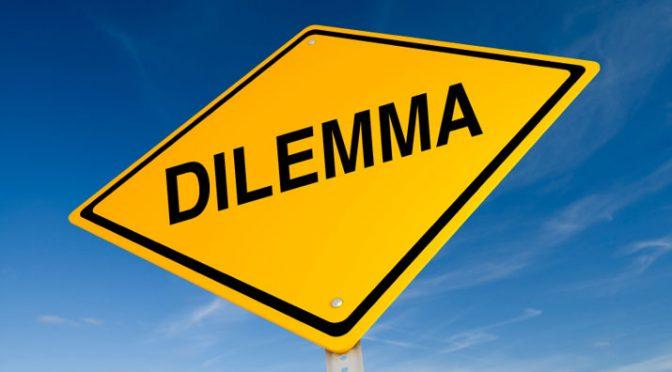 Dilemma resolved