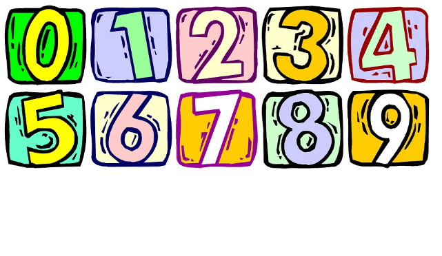 Teaching numbers 0-12