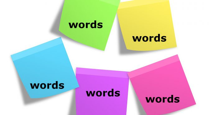 Learning new words – tips & tools