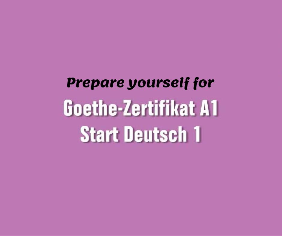 Brief a1 schreiben institut goethe Free German