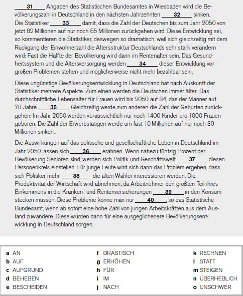Telc B2 German Language Workshop